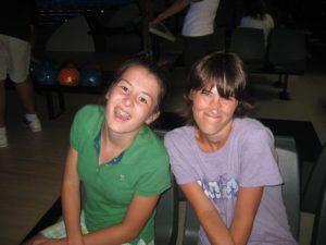 Ashley & Anna smiling